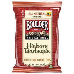 Boulder Canyon 35784 Hickory Bbq Potato Chips Gluten Free
