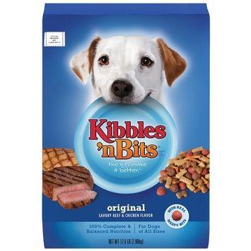 Kibbles 'n Bits Kibbles n Bits Original Savory Chicken and Beef, 17.6-Pounds