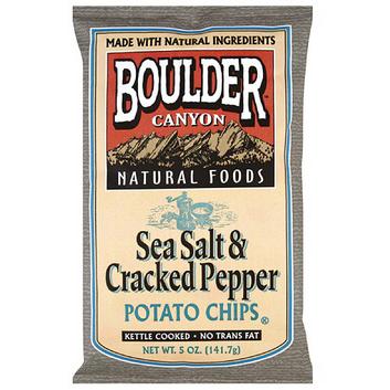 Boulder Canyon Sea Salt & Cracked Pepper Potato Chips