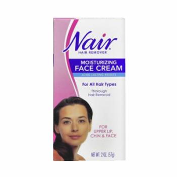 Nair Moisturizing Face Cream, 2 Ounce