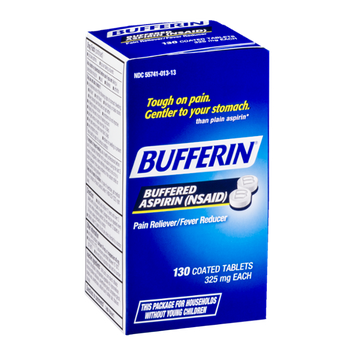 Bufferin Buffered Aspirin Coated Tablets - 130 CT