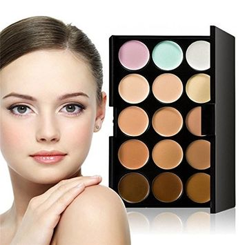 Urberry 15 Colors Cosmetic Powder Eyeshadow Palette Makeup Set