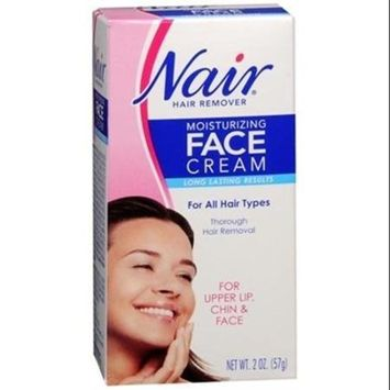 Moisturizing Face Cream For Upper Lip Chin And Fac Nair 2 oz, Pack of 3 by Nair