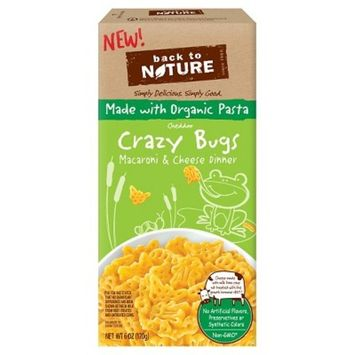 Back To Nature Made With Organic Pasta Crazy Bugs Mac & Cheese 6 oz