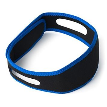 Anti-Snoring Chin Strap-Easily Adjustable Snore Stopper-Stop Snore Solution Relief Device-Supporter Snores Reduction Straps