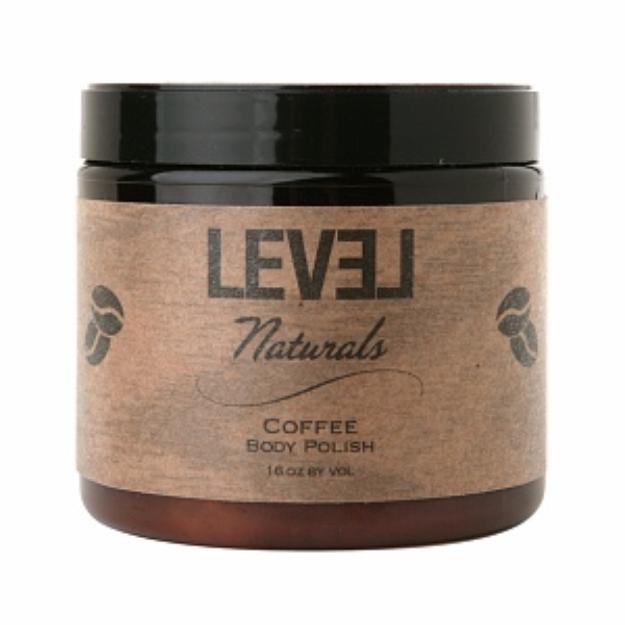 Level Naturals Body Polish, Coffee, 16 oz