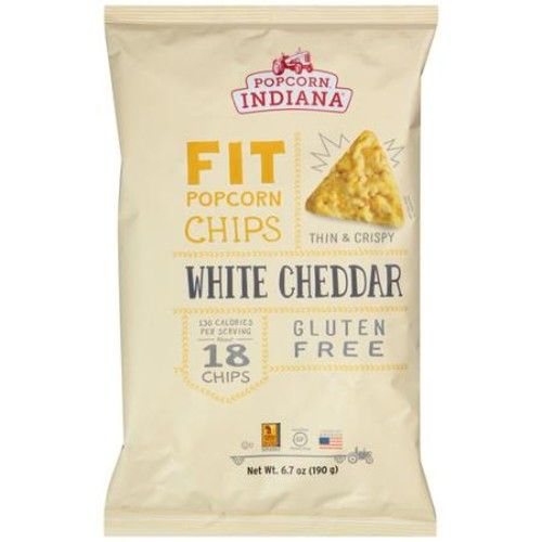 Popcorn Indiana Fit White Cheddar Popcorn Chips