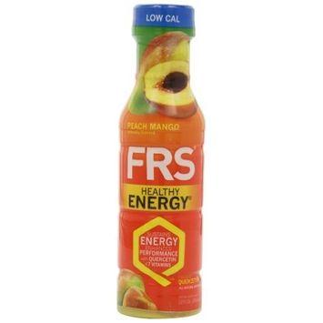 FRS Healthy Energy, Peach Mango, 12-Fluid Ounce (Pack of 12)
