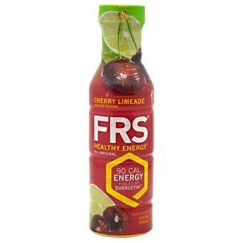 FRS Healthy Energy Cherry Limeade 12 fl oz (355mL) Bottles 12 Pack