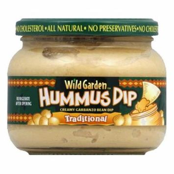 Wild Garden Traditional Hummus Dip, 13.4 OZ (Pack of 6)