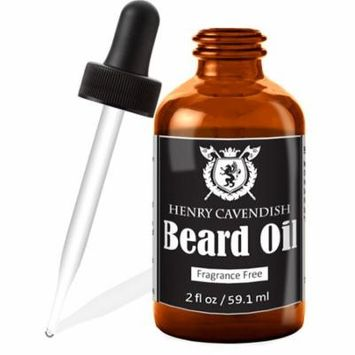 Henry Cavendish Beard Oil. 2oz - Organic Jojo, Sunflower, Shea and Argon Oils.
