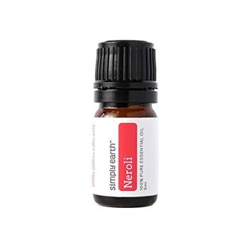 Neroli Essential Oil by Simply Earth - 5ml, 100% Pure Therapeutic Grade