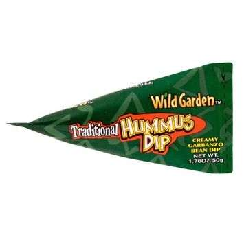 Wild Garden Hummus To Go Traditional, 1.76 OZ (Pack of 6)