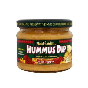 Wild Garden Hummus, Fire Roasted Pepper, 10.74 OZ (Pack of 2)