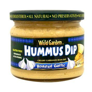 Wild Garden Hummus, Roasted Garlic, 10.74 OZ (Pack of 2)