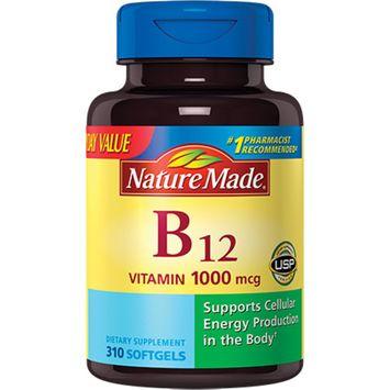 Nature Made Vitamin B-12 1000mcg Softgels Value Size, 310ct
