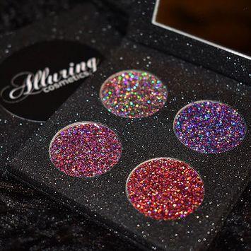 Alluring Cosmetics Mini Galaxy Glitter Palette