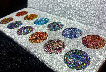 Alluring Cosmetics Galaxy Glitter Palette