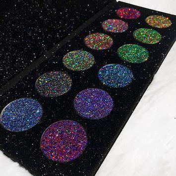 Alluring Cosmetics Galaxy Glitter Palette 2