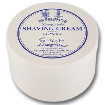 D R Harris Shaving Cream in Lavender (150 g) by D R Harris