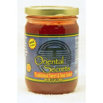 Oriental Secrets Traditional Sweet and Sour Sauce