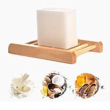 Pevor Bamboo Charcoal Handmade Soap and Goat Milk Handmade Soap Blackhead Remove Skin Whitening Face Wash Bath Skin Care Natural Pure Handmade Soap