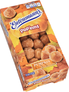 Entenmann's Pop'ems Pumpkin Donut Holes