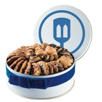 Fresh Baked Assorted Cookie Gift Tin  Gimmee Jimmy's Cookies  8 Pounds