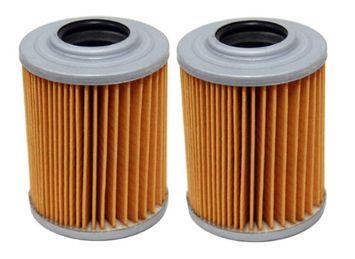Factory Spec brand Oil Filters - 2 Pack - Aprilia RSV 1000, RST 1000, SL1000