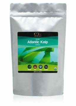 Optimally Organic Atlantic Kelp Granules, 2 Lbs - Raw Organic Kelp Granules from Canada's Northern Atlantic