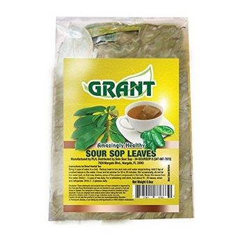 Grant Amazing Soursop Organic Leaves (Over 50 Count)