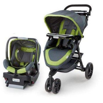 Ingenuity InStride Easy Up Travel System (Grey)