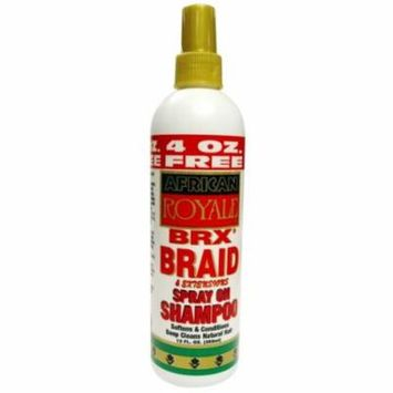African Royale Brx Braid Shampoo Bonus 12 oz. (Pack of 6)