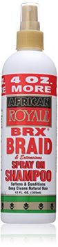 African Royale Brx Braid Spray On Shampoo