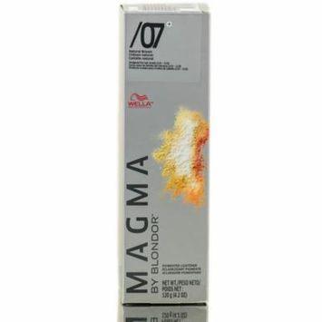 Wella Magma By Blondor Pigmented Lightener (Color : /07+ Natural Brown - 4.2 oz)