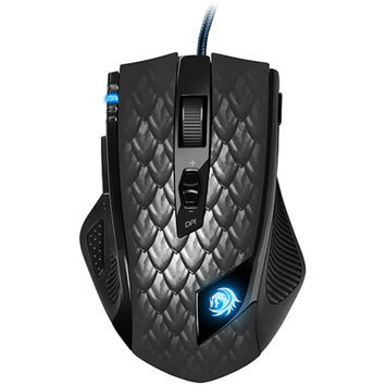 Sharkoon 000SKDMB Drakonia Black Gaming Mouse, Black
