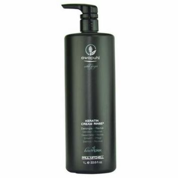 Paul Mitchell Awapuhi Wild Ginger Keratin Cream Rinse, 33.8 Ounce