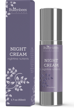 Bullenbees Skin Care Night Cream - Nighttime Nutrients