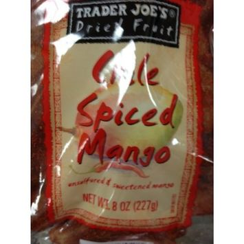 Trader Joe's Dried Chile Spiced Mango 8 oz (227g)