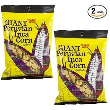 Trader Joe's GIANT Peruvian Inca Corn 8 OZ (227g) - 2-Pack