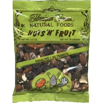 Flanigan Farms Natural Foods Nuts 'N' Fruit Trail Mix (w/ Dried Persimmons) 2.5oz (6 Pack)