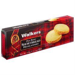 Walker's Shortbread Walkers Shortbread Pure Butter Shortbread, Highlanders, 4.7 oz