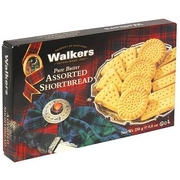 Walkers Assorted Shortbread Cookies