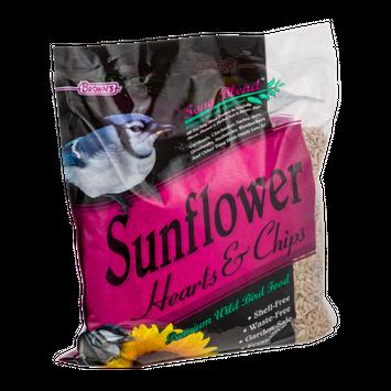 Brown's Song Blend Sunflower Hearts & Chips Premium Wild Bird Food
