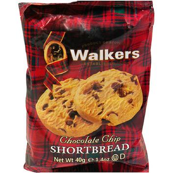 Walkers Chocolate Chip Shortbread Cookies