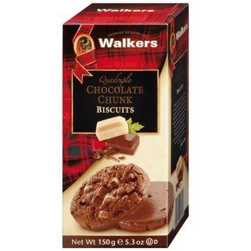 Walkers Quadruple Chocolate Cookies-5.3 oz