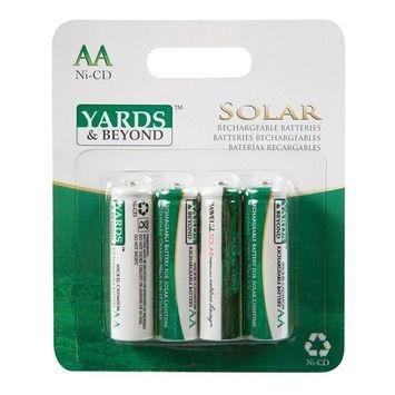 Yards & Beyond Solar Light Battery Aa 900 Mah Card Of 4