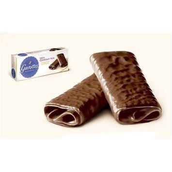 Gavottes Dark Chocolate Crepe Dentelle Cookies 90 gram box, Six by Loc Maria