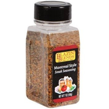 Blazin Blends Montreal Style Steak Seasoning - 7 ounces 1 bottle