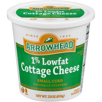 Arrowhead® 1% Lowfat Small Curd Cottage Cheese